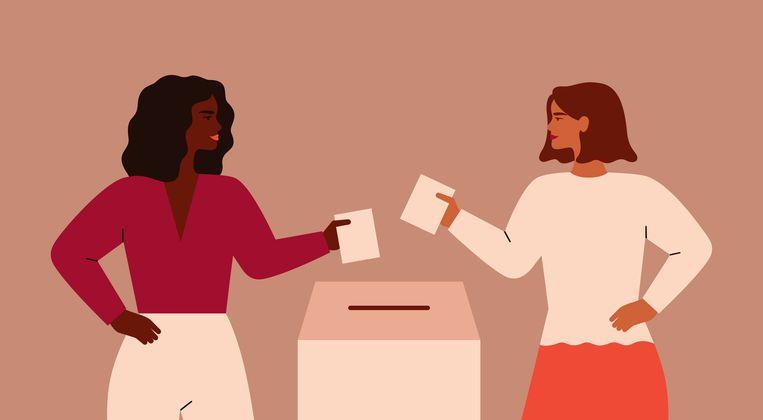 Met voorkeursstemmen kunnen kiezers direct invloed hebben op het aantal vrouwen in de Kamer. Beeld Getty