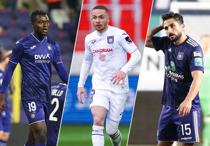 Bundu, Trebel en Saief horen bij de negen spelers waar Anderlecht van af wil.