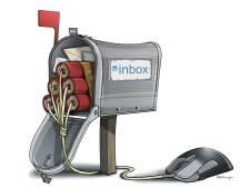 Onophoudelijke stroom mailtjes is te veel voor ons oerbrein: 'Telkens een oei-gevoel'
