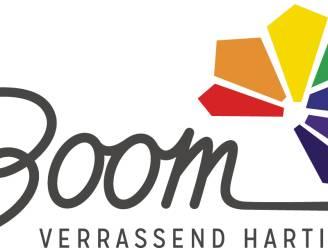 Boom steekt gemeentelogo in regenboogkleurtje