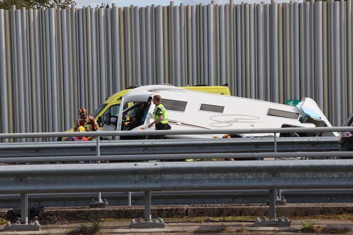 Zwaar ongeluk op A2.