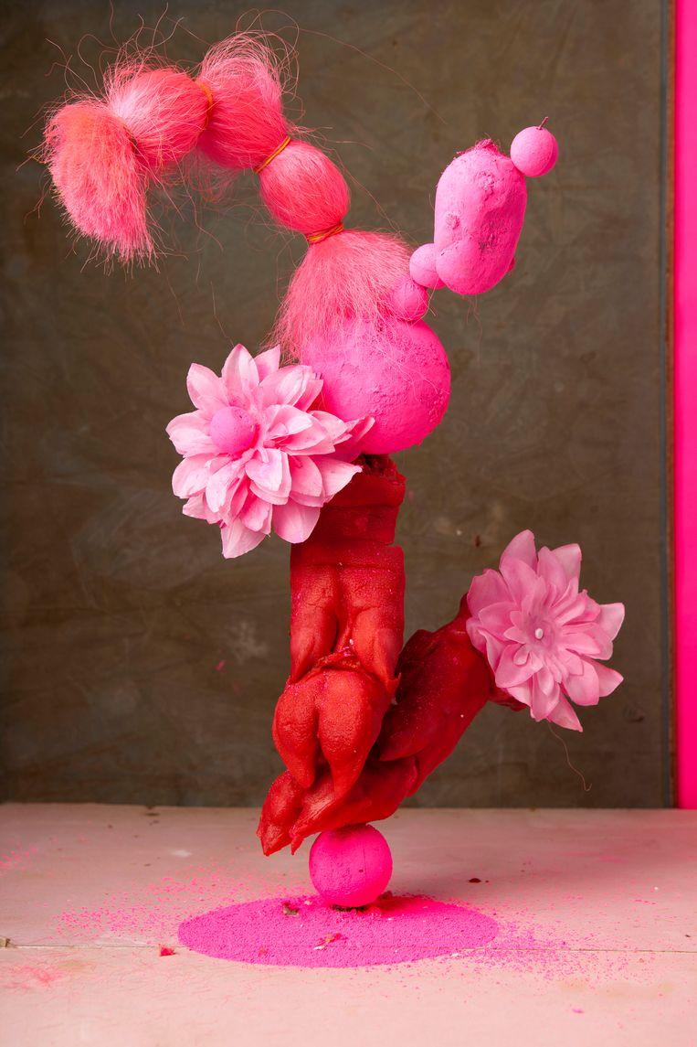 Roze fotosculptuur, 2013. Beeld Lorenzo Vitturi