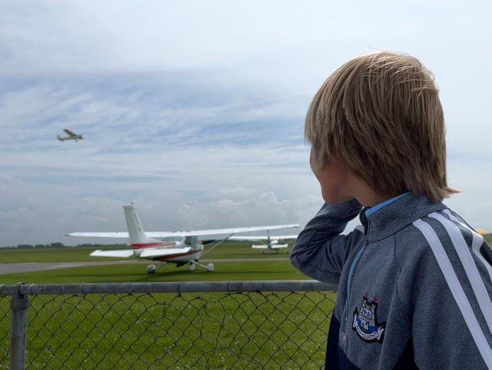 Vliegveld Midden-Zeeland in Arnemuiden.