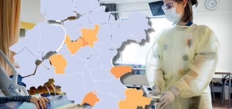 KAART | Twee nieuwe Veluwse gemeenten met oplopende coronacijfers; ook Zwolle kleurt weer oranje