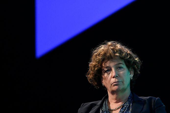 Minister van Telecommunicatie Petra De Sutter (Groen).