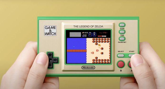 Vier 'Zelda'-games in zakformaat.