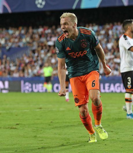 Ontketend Ajax geeft Valencia lesje in doeltreffendheid