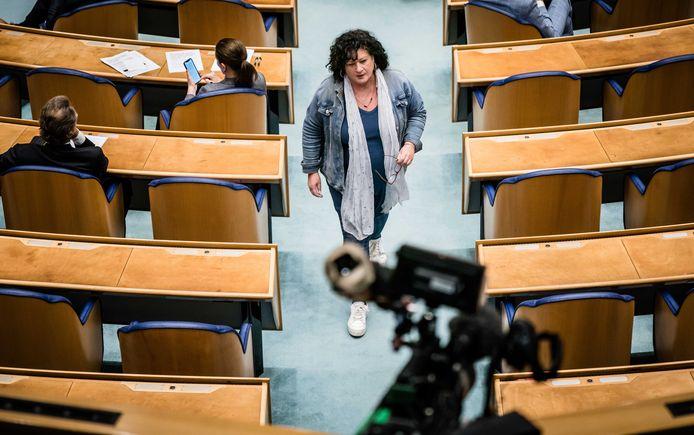 Caroline van der Plas (BBB) gaf zich bij De Slimste Mens niet zomaar gewonnen.