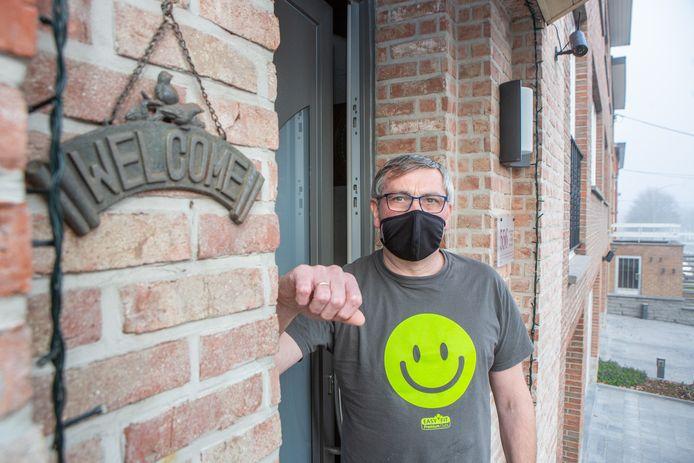 Danny Detobel (53) gaat in het vervolg twee keer nadenken vooraleer hij zomaar 's nachts de deur opent voor een wildvreemde.