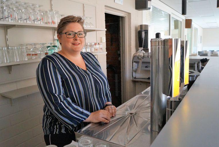 Fien Desmet (31) begint een nieuw hoofdstuk als uitbaatster van de cafetaria van het sportcentrum.