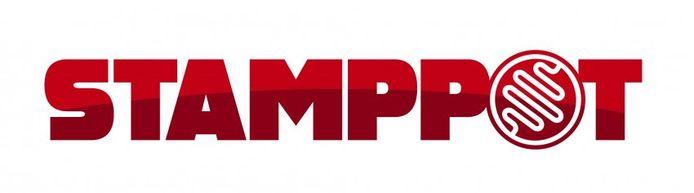 Het logo van Stamppot.