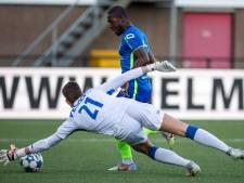 Profdebuut smaakt naar meer voor Helmond Sport-doelman, net als het linkerrijtje: 'Hier doe je het voor'