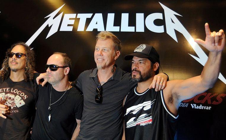 Metallica is maandag headliner op een uitverkocht Werchter Boutique.