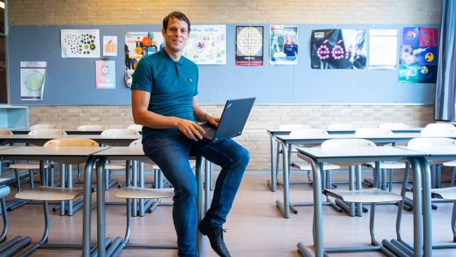 Marten (32) begint in coronatijd als docent: 'Dat ik een hele klas voor me mag hebben, is een cadeau'