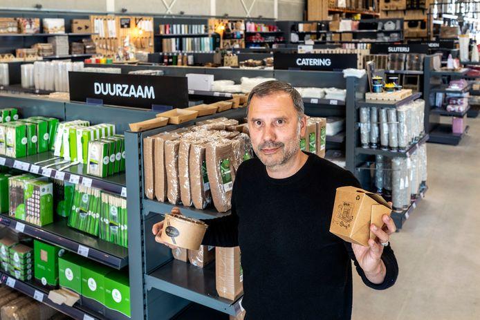 Albert van 't Blik van PACKcenter Verpakkingen.