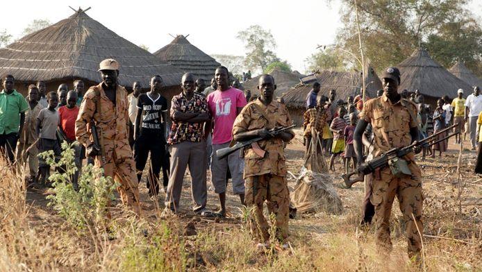 Zuid-Soedanese rebellen.