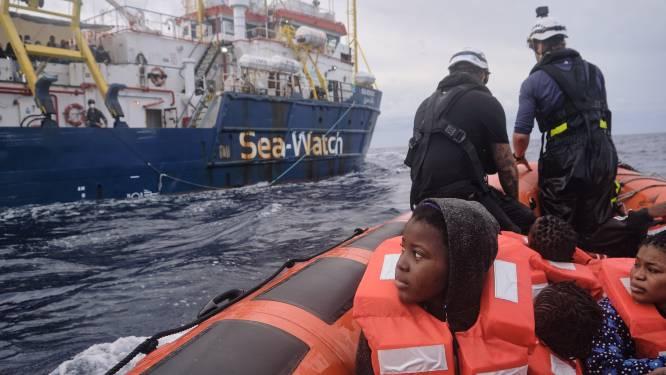 Sea-Watch redt op 24 uur meer dan 300 migranten op Middellandse Zee