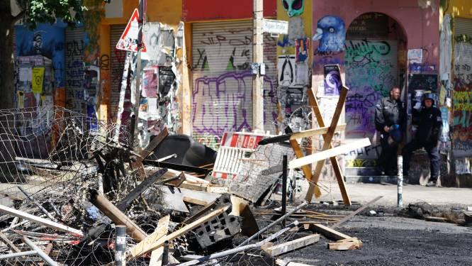 Berlijnse politie clasht met krakers: tientallen gewonde agenten