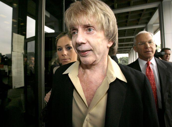Phil Spector in 2007, tijdens z'n proces
