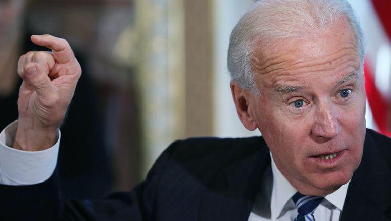 Vicepresident Joe Biden Beeld getty