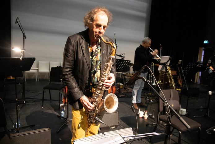 Bo van de Graaf met zijn ensemble I Compani, januari 2020.