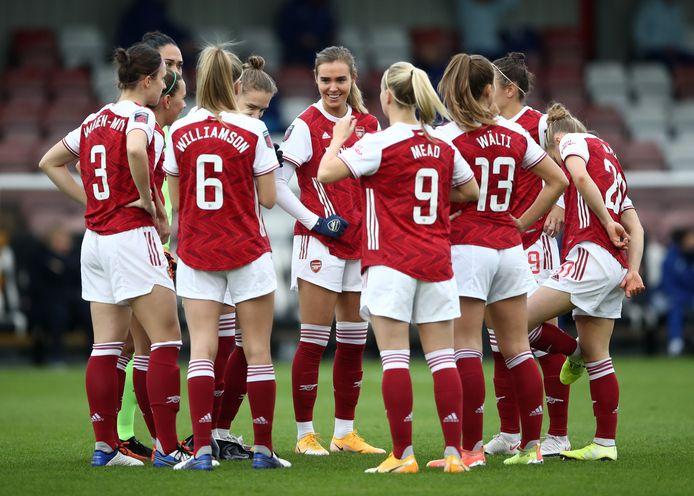 L'équipe féminine d'Arsenal
