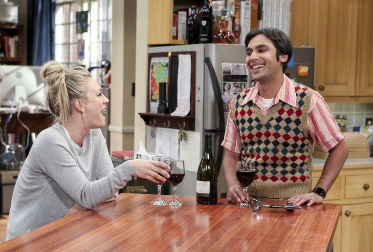Hoe het niet moet. Alhoewel... Raj Koothrappali uit 'The Big Bang Theory'. Beeld CBS via Getty Images