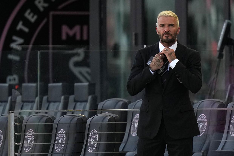David Beckham is mede-eigenaar van de Amerikaanse voetbalclub Inter Miami FC Beeld Belga Image