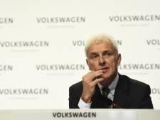 Volkswagen-CEO biedt Amerikanen excuses aan
