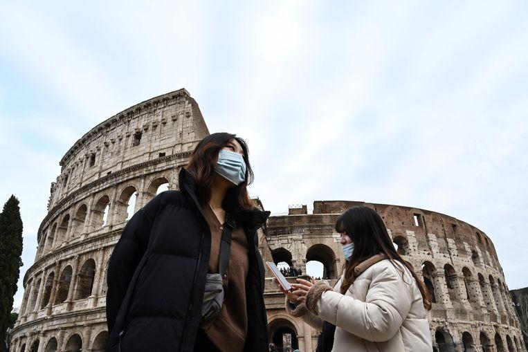Het Colosseum in Rome. Beeld AFP