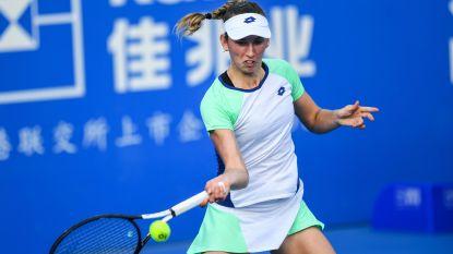 """Elise Mertens grijpt naast stek in halve finales van Shenzhen: """"Ze serveerde goed en maakte weinig fouten"""""""