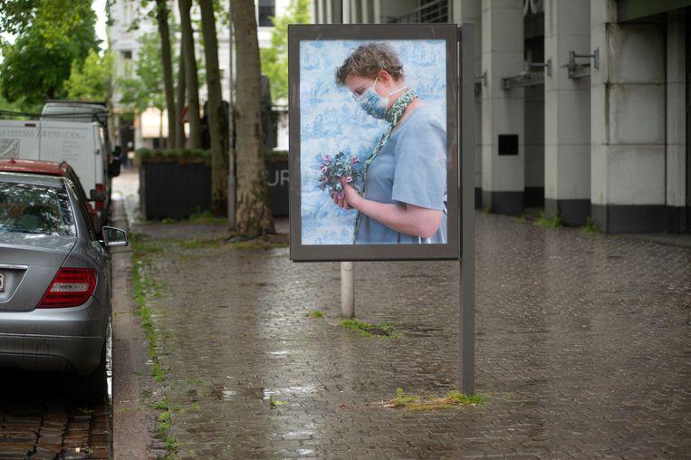 Antwerpen Billboard Project: Leopold De Waelplaats.