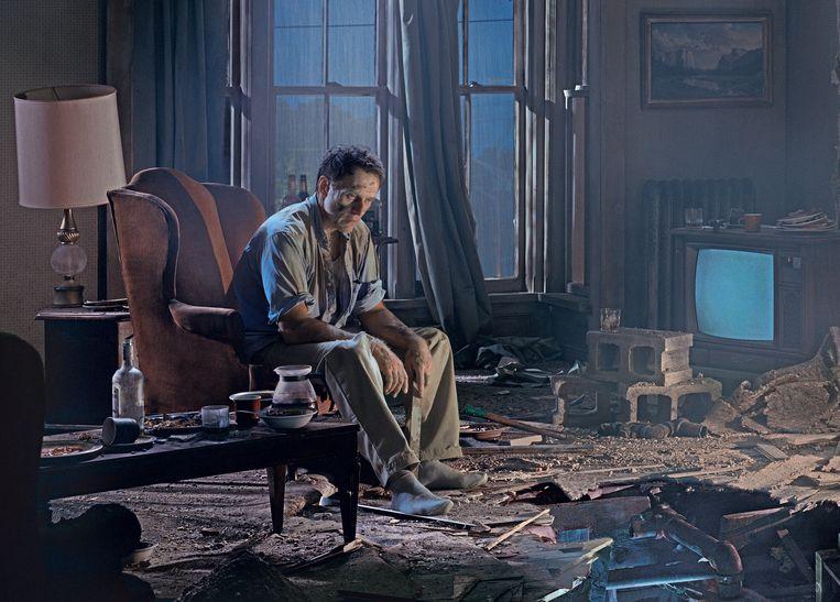 """De nieuwe Malpertuis-voorstelling 'Beginners' wordt geregisseerd door filmmaakster Nathalie Teirlinck. """"Filmisch theater, zonder ook maar één camera te gebruiken"""", klinkt de omschrijving.  Beeld RV Gregory Crewdson"""
