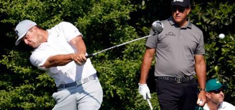 De Popeye van het golf begint met nieuw wapen aan The Masters