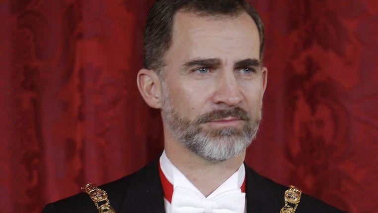 Koning Felipe van Spanje. Beeld photo_news