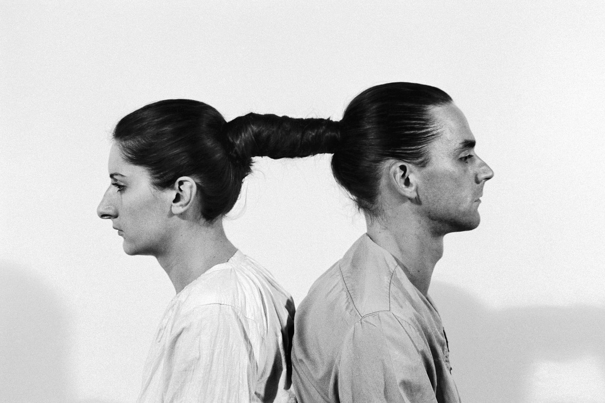 Ulay en Abramovic, Relation in Time (1977). Beeld Ulay Foundation & Marina Abramovic Archives