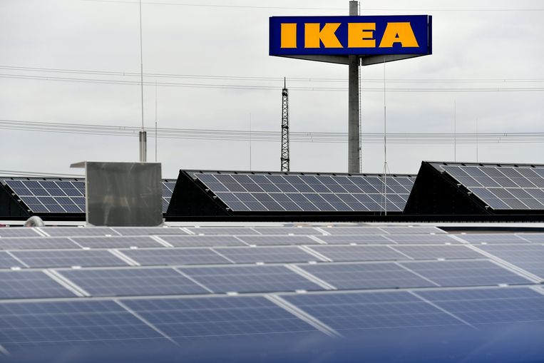 Ikea wil de grootste leverancier van zonnepanelen worden. Beeld epa