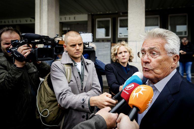 Peter Wiegmink: 'Geef hem een zak met geld en een eigen kantoor en je zult versteld staan hoeveel moordzaken hij oplost.' Beeld ANP