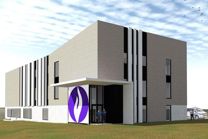 Zo zou het nieuwe politiehuis er moeten uitzien, maar wanneer begint de bouw ervan?