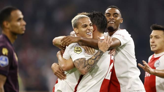Sublieme rechterflank van Ajax veel te machtig voor FC Groningen