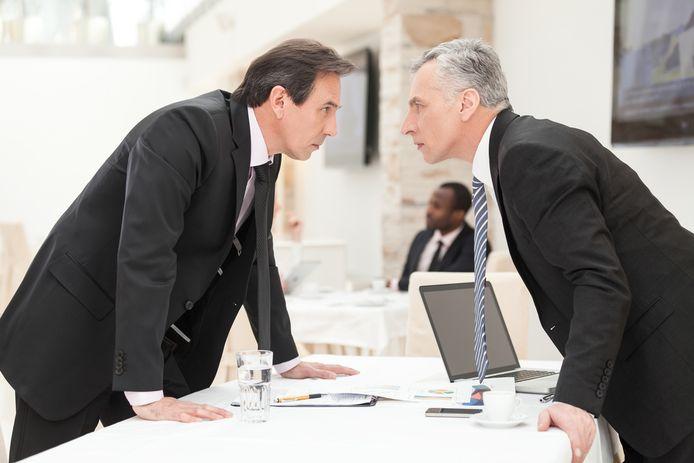 Als een conflict blijft aanslepen is er soms geen andere oplossing dan de handdoek in de ring te gooien.