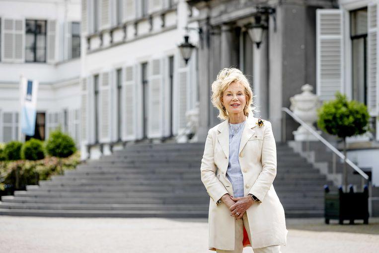 Eigenaar Maya Meijer-Bergmans voor Paleis Soestdijk.  Beeld ANP