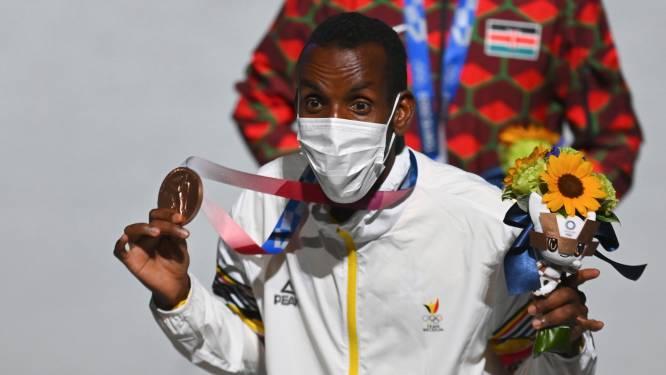 """Bashir Abdi zet orgelpunt met olympisch brons op marathon, 45 jaar na Karel Lismont:  """"Ik kom nog wel eens terug voor het goud"""""""