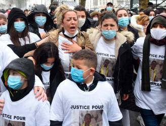 Witte mars voor doodgeschoten jongen (15) in Nantes