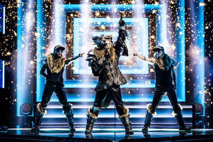 Wolf stal de show in de halve finale van 'The Masked Singer' afgelopen vrijdag.