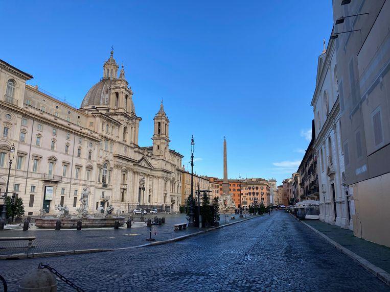 Piazza Navona Beeld Rosa van Gool