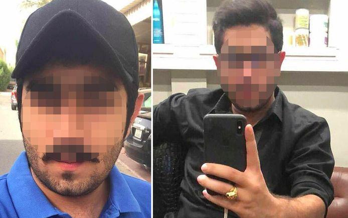 De verdachten Saad A.B. (links) en Zahir J. (rechts).