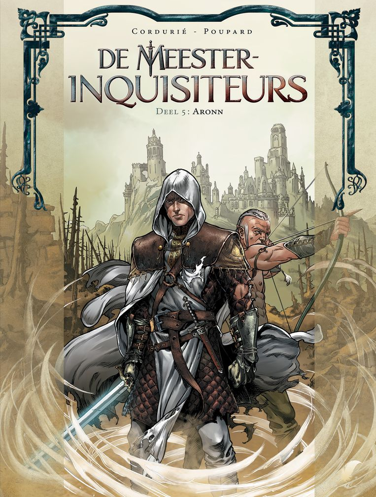 Cover van 'De meester-inquisiteurs'.  Beeld RV