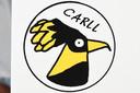 De muselets hebben allemaal een link naar de ereburger, voor Carll Cneut is dat een vogel