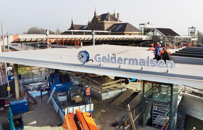 Nieuwe toegang station Geldermalsen